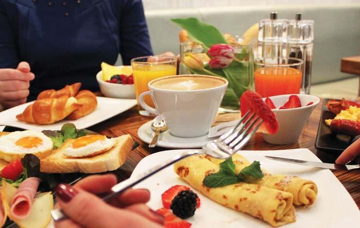 Business raňajky aj pre nehotelových hostí