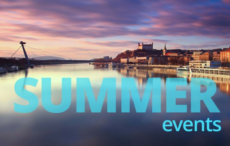 Hot summer events in Bratislava